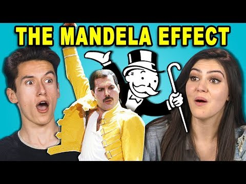 10 CREEPY MANDELA EFFECTS #2 w/ Teens (REACT)