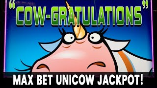 🎰 Max Bet UNICOW JACKPOT 💰🐮 Hundreds of Free Spins - My BIGGEST EVER!