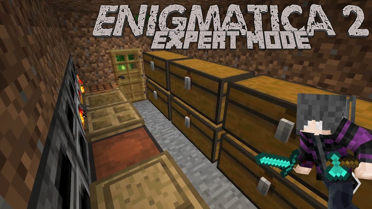 Enigmatica 2: Expert   Episode 1   The Hovel