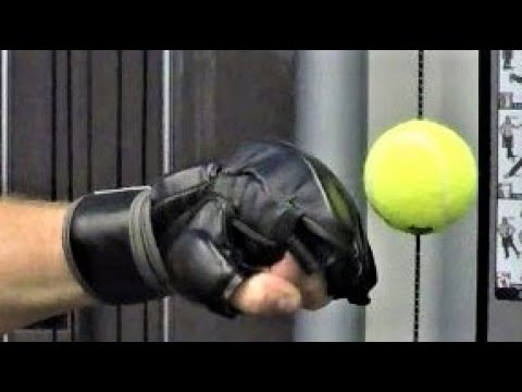 Make A Speed Ball For Boxing, Martial Arts For $3 Or Less