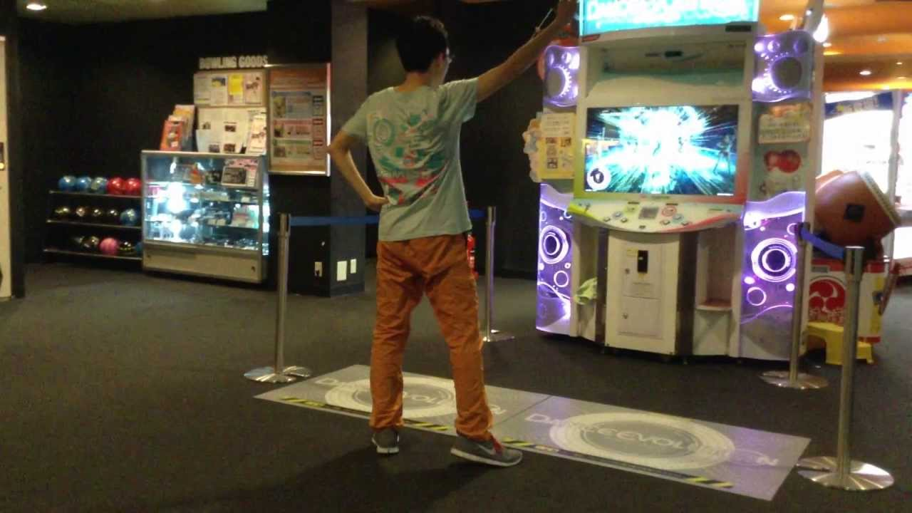 [MUST SEE!] Dance Evolution Arcade - Otaku killing it  @ Round1