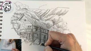 Reto de Dibujo de Una Línea, REALISTA con un Solo Lápiz!!!