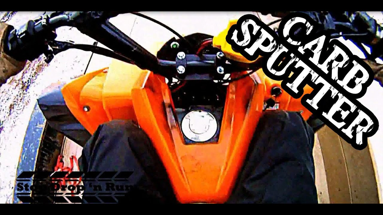 Atv Sputters When Accelerating