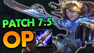 ADC to MASTERS! HOW TO PLAY EZREAL LIKE A GOD IN PATCH 7.5 - League of Legends Commentary