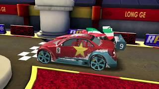 Max Vs Francesco Bernoulli & Lightning Mcqueen Disney Pixar Cars Racing Gameplay for Kids