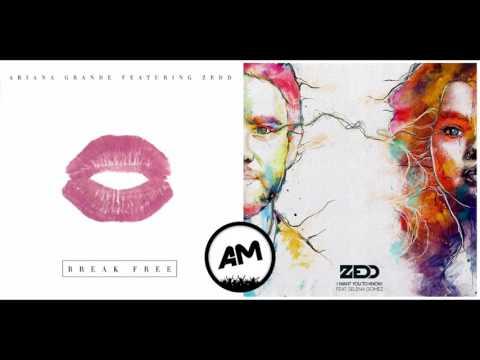 Zedd Ft. Ariana Grande - I Want To Break Free (Mashup)
