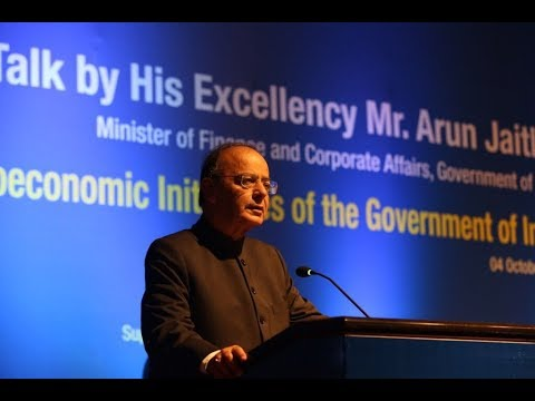 Talk by Mr. Arun Jaitley, Minister of Finance and Corporate Affairs of India in Bangladesh