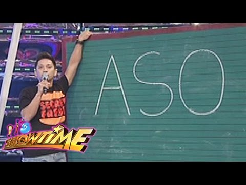 It's Showtime: Jhong's spelling skills