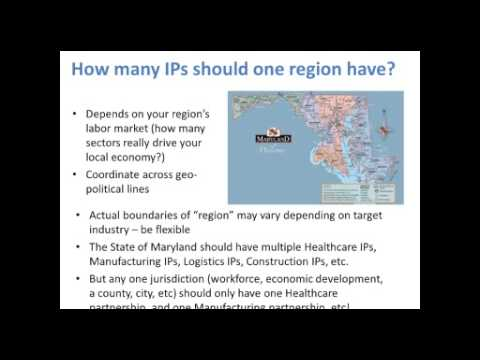 INDUSTRY DATA: How to Identify Your Target Industry - EARN Maryland - Recorded July 29, 2013