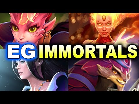 EG vs Immortals - NA Groups Final - Midas Mode DOTA 2