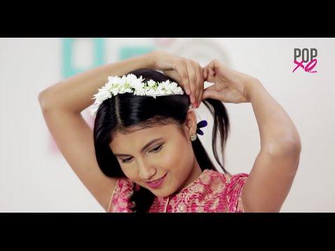 Easy And Pretty Gajra Hairstyle Ideas Popxo Youtube