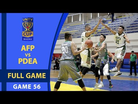 FULL GAME: AFP vs PDEA (January 28, 2018)