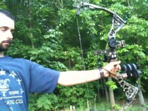 Mathews Dxt Sound Test With And Without Monkey Tails