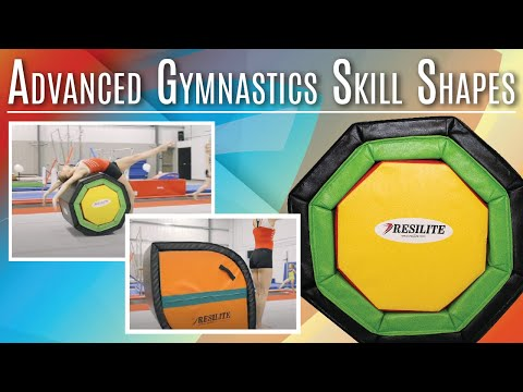Advanced Gymnastics Skill Shapes - Smarter Spotters And Octagon Barrels | Resilite Sports Products