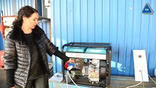 Генератор konner&sohnen ks 9100 hde-1/3 atsr  тестируем  мощность
