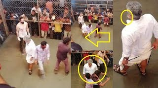 விஸ்வாசம் மாஸ் Fight Scene  | Viswasam Thala Mass Fight Scene| AjithKumar | Viswasam Updates
