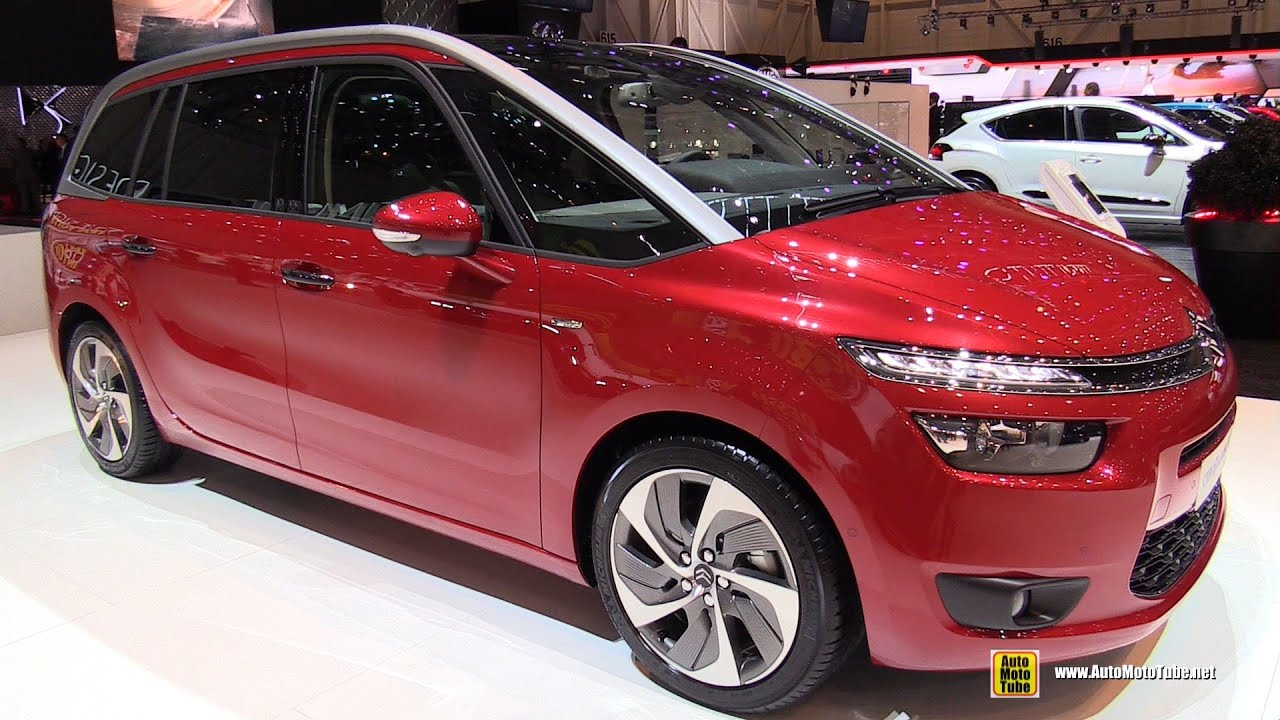 2015 citreon c4 picasso exclusive exterior and interior walkaround 2015 geneva motor show - C4 picasso interior ...