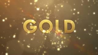 Golden particles thumbnail