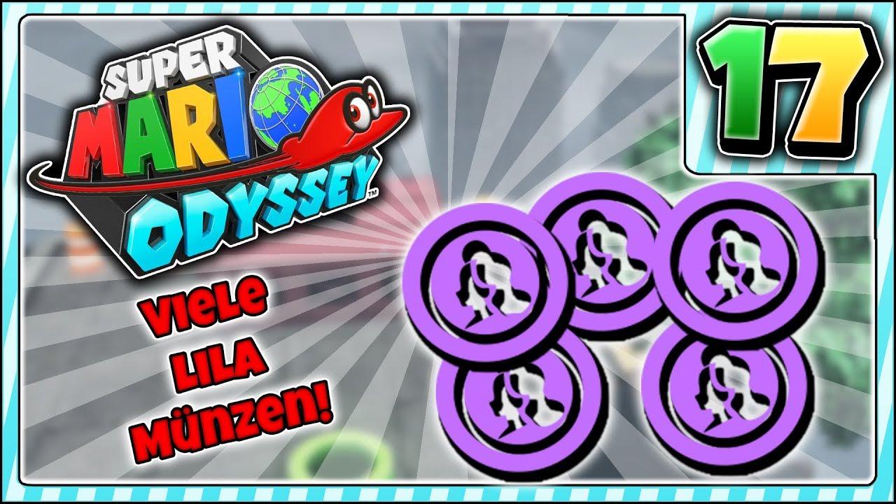 Super Mario Odyssey Die Lila Münzen Im Cityland Holen Folge 17