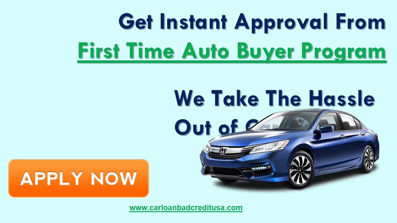 What Is First Time Car Buyer Program ?