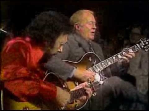 Barney Kessel and Herb Ellis playing