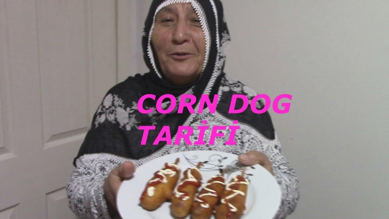CORN DOG NEDİR , NASIL YAPILIR? | Pratik Yemek Tarifleri | Annemden Basit Corn Dog Tarifi