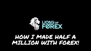 Berto Delvanicci-How I made half A MILLION with Forex #NFPFOREX (EXCLUSIVE) MUST WATCH!)