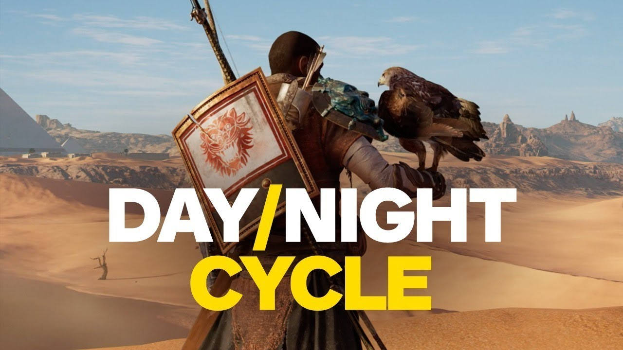 Assassin's Creed: Origins – Day/Night Cycle Time Lapse (4K)
