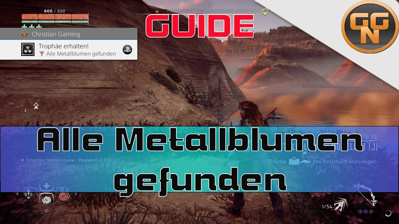 Horizon Zero Dawn Karte.Horizon Zero Dawn Guide Alle Metallblumen Gefunden Fundorte Trophy Guide
