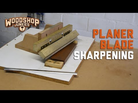 Thickness Planer Blades Sharpening Jig For Restoring Dull Blades