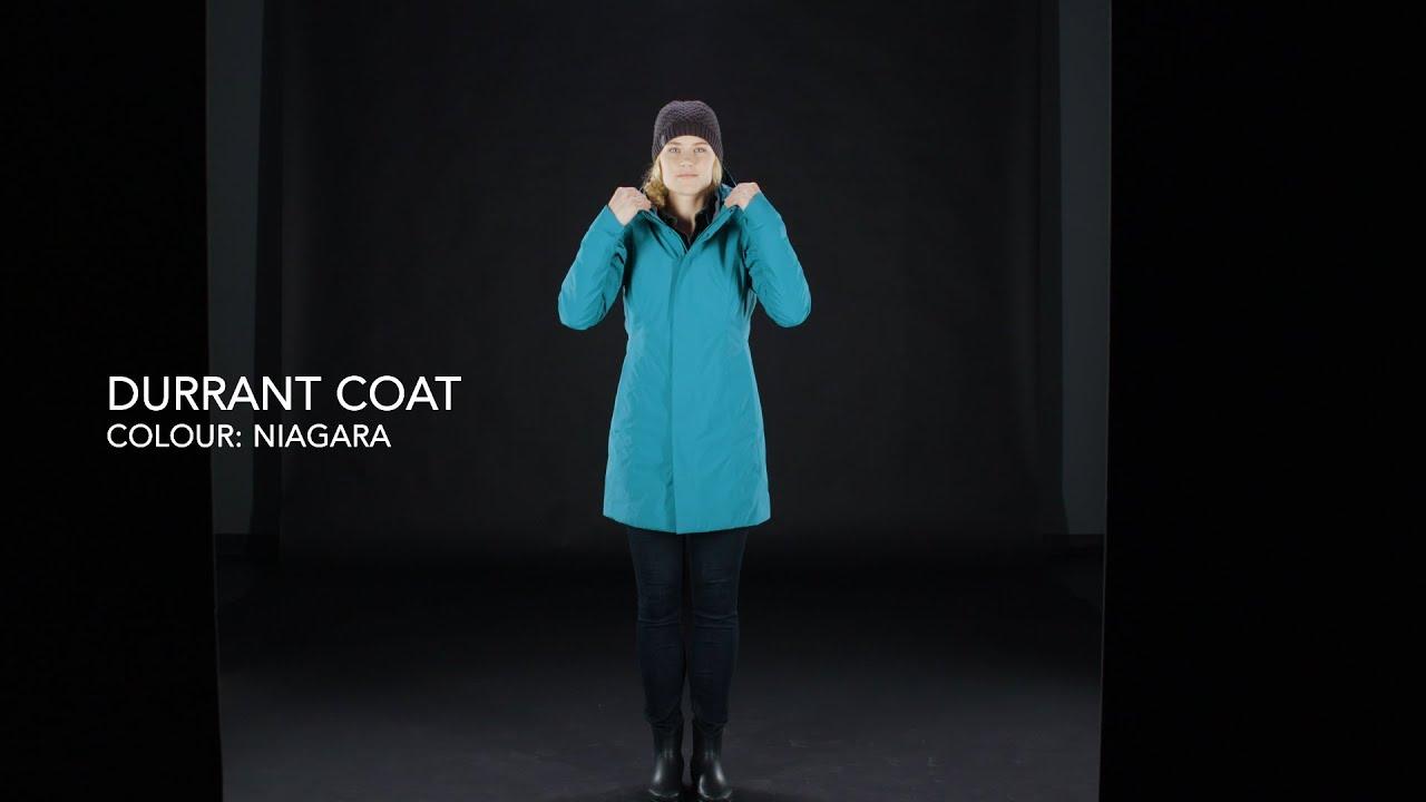 Arc Teryx Women S Durant Coat Niagara Youtube