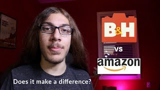 B&H vs. Amazon - where should you buy your gear?