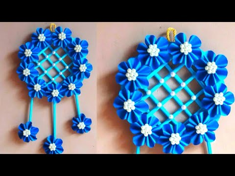 Diy new paper flower wall hanging design | paper craft | wall hanging decor ideas | home decor 2019