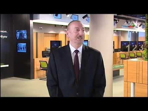 Prezident İlham Əliyev DOST Agentliyinin Açılışında Iştirak Edib