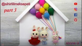#amigurumipano #örgütavşan #babybuny #amigurumi #örgüpano 3 (bebek tavşan yapımı)