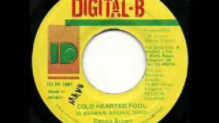 GREGORY ISAACS + DENNIS BROWN + DANGER JAZZWAD   Danger in your eyes + cold hearted fool + version 1997 Digital B