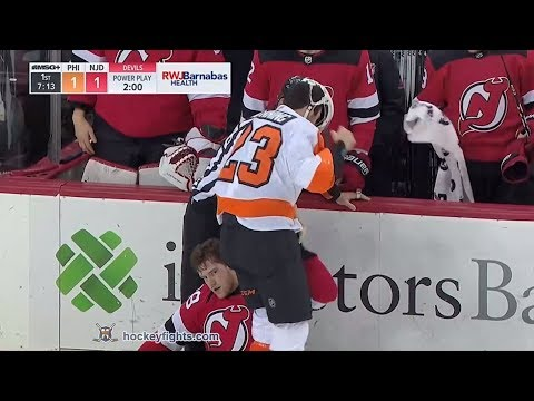 Brandon Manning vs Damon Severson Feb 1, 2018