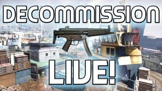MW3: New Decommission LIVE Gameplay!