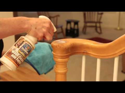 Don Aslett's Set of 2 16oz. Professional Wood Cleaner and Polish on QVC