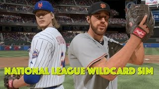 MLB WILDCARD!! | METS vs GIANTS Playoff Simulation | MLB The Show 16
