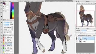 speedpaint / centaur 2