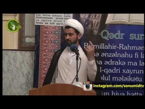 Hacı Rza cümə xütbəsi Ramazan
