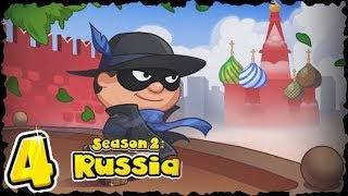 Bob The Robber 4 Season 2 Russia Level 1 to level 4