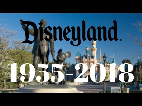 The History of Disneyland (1955-2018): Rides and attractions