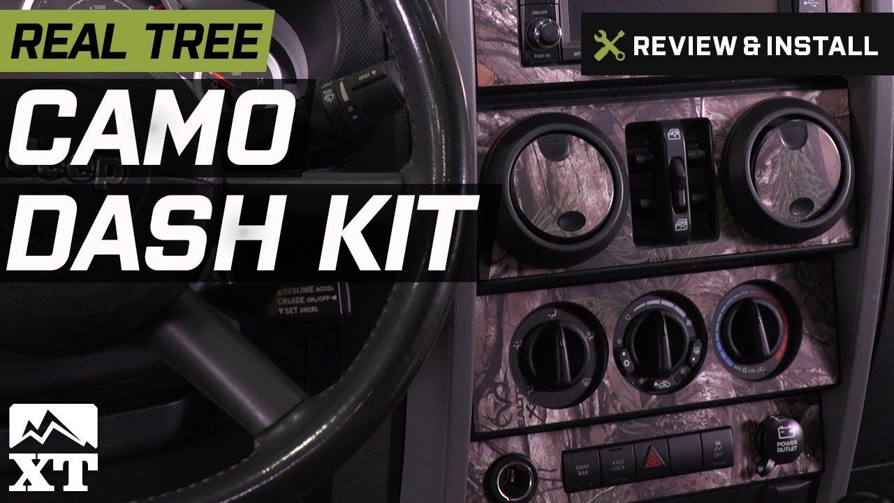 Jeep Wrangler Real Tree Camo Dash Kit W Interior Door