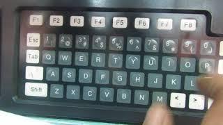 Как написать программу на станок ла155ф30 стойка NC210 часть 1.