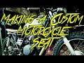 How To Make A Custom Motorcycle Seat - Kawasaki KZ250 Build