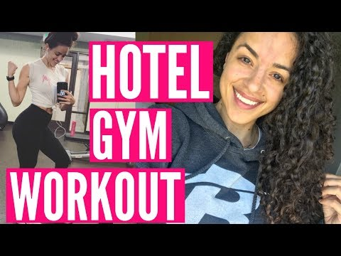 TRAVEL VLOG: BOISE BOUND & QUICK HOTEL GYM WORKOUT