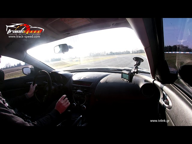 Our Mazda RX8 driven at Serres Circuit Track-speed.com