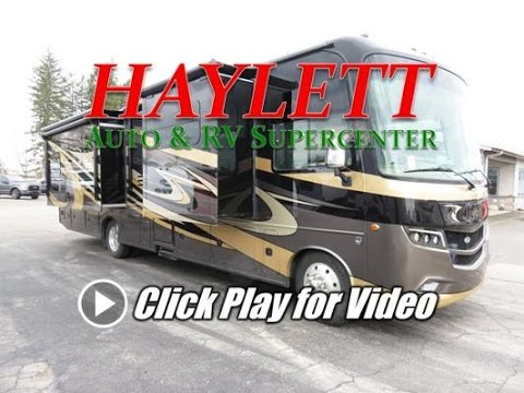 HaylettRV - 2018 Jayco Precept 36T Two Bath Class A Motorhome with Convertible Closet Bunks